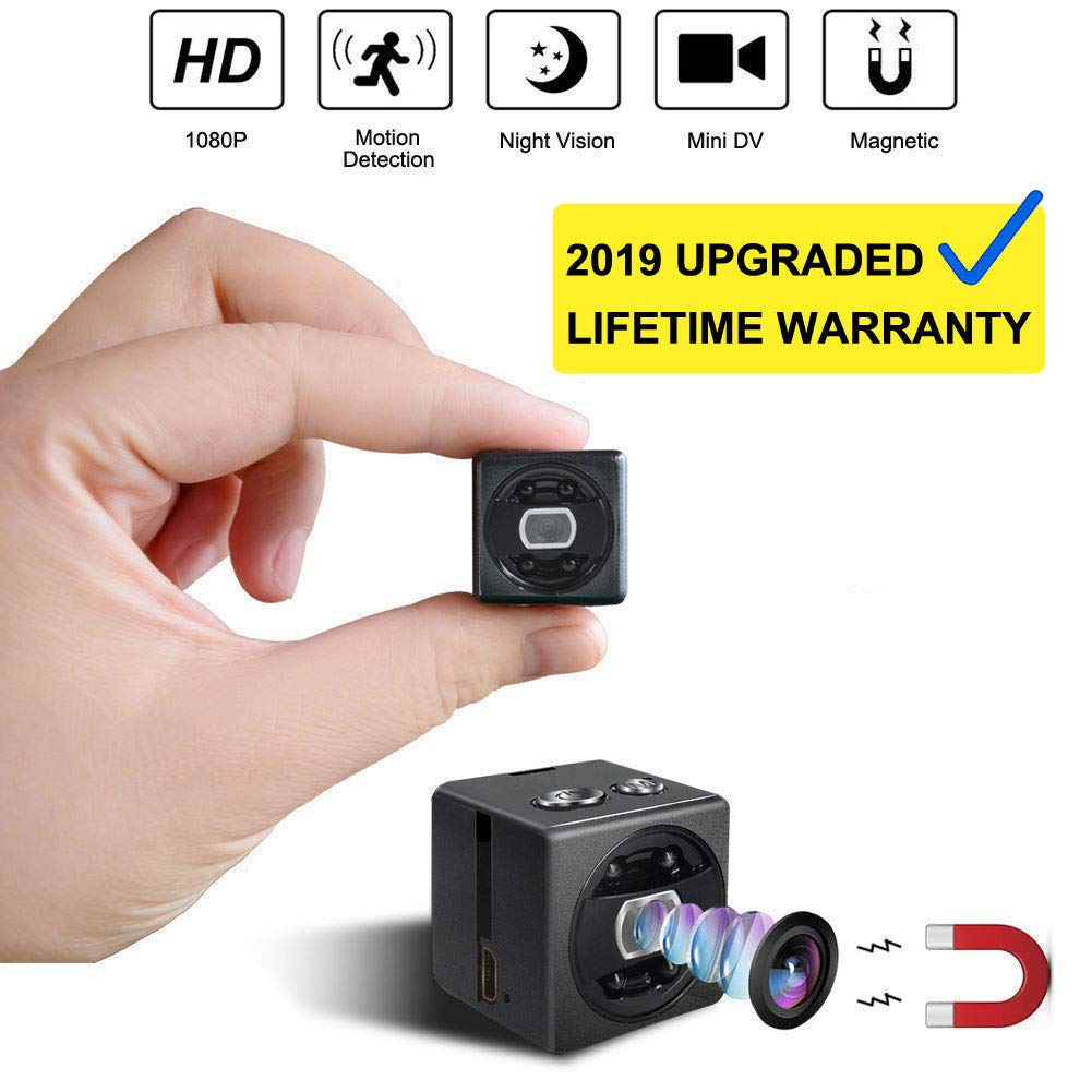 عکس Mini Spy Hidden Camera cop cam - HD 1080P Portable Small Nanny Cam Surveillance Magnetic Security Camera with Night Vision/Motion Detection Perfect Indoor/Outdoor Surveillance Camera Home Car Office  mini-spy-hidden-camera-cop-cam-hd-1080p-portable-small-nanny-cam-surveillance-magnetic-security-camera-with-night-vision-motion-detection-perfect-indoor-outdoor-surveillance-camera-home-car-office