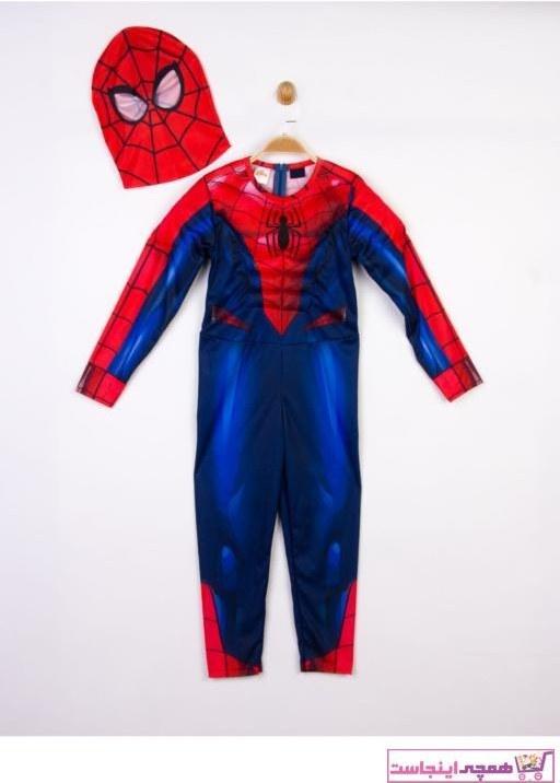 تصویر لباس خاص ارزان پسرانه برند SPIDERMAN رنگ قرمز ty62346938