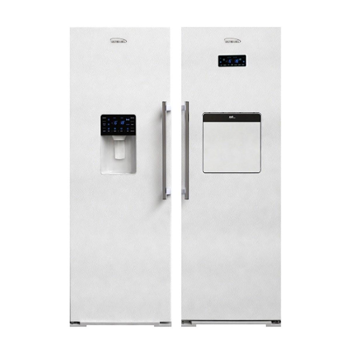 تصویر یخچال دوقلو الکترواستیل es23 Electrostatic twin refrigerator es23
