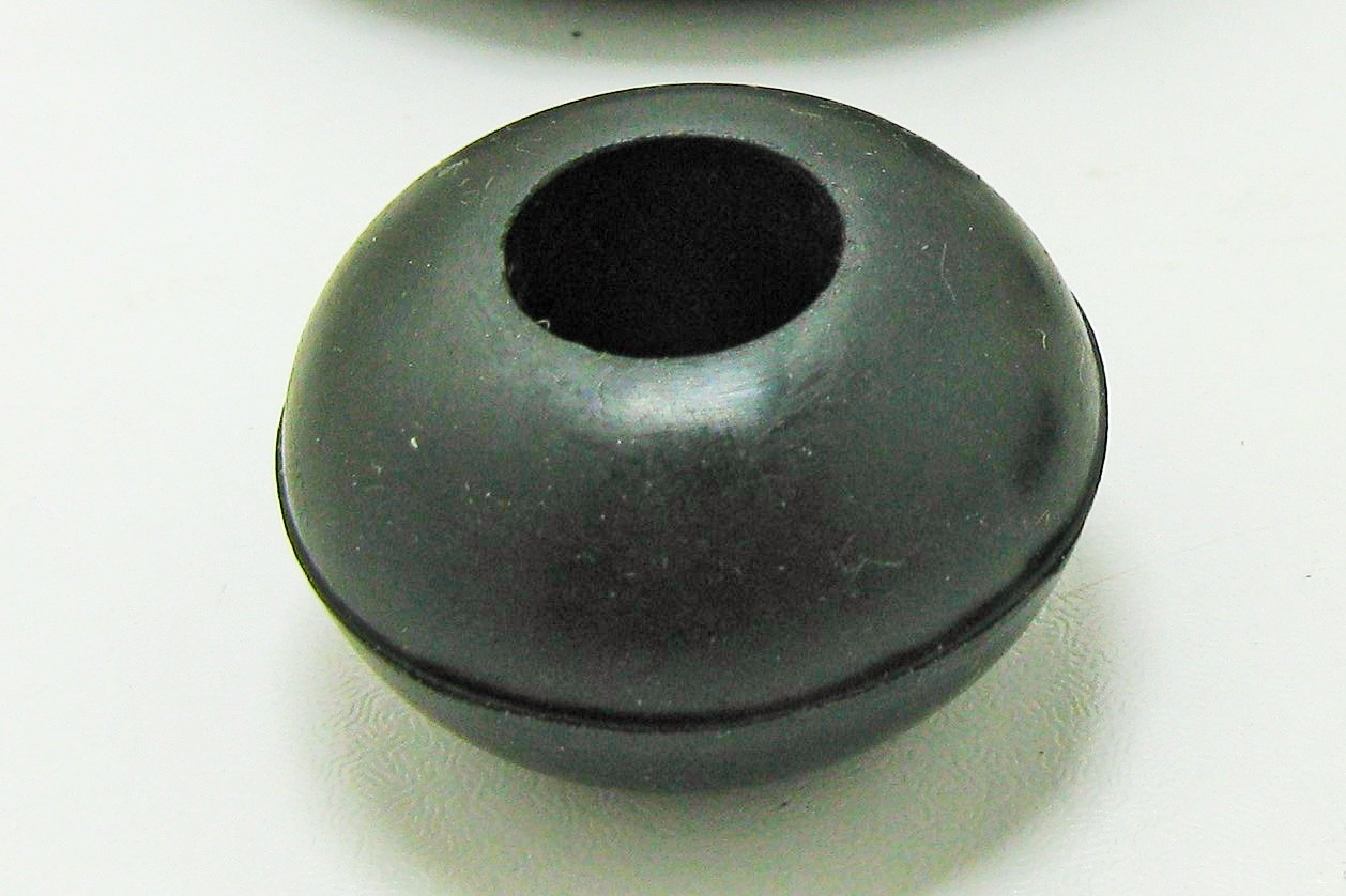 main images واشر لاستیکی توپی (J)،مقره فشار قوی ۳۰×۱۲×۱۸ Transformer Rubber Ball Washer for HV Insulator Model J , Size ۳۰×۱۲×۱۸