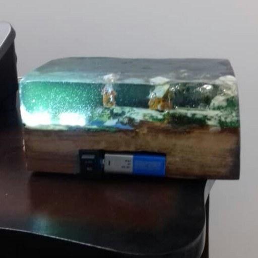 چراغ خواب دکوری جزیره زیر دریا |