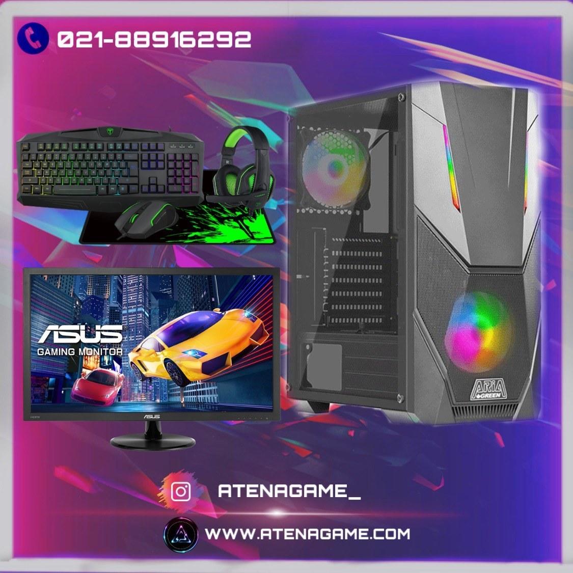 تصویر کامپیوتر دسکتاپ گیمینگ Intel Core i7-9700