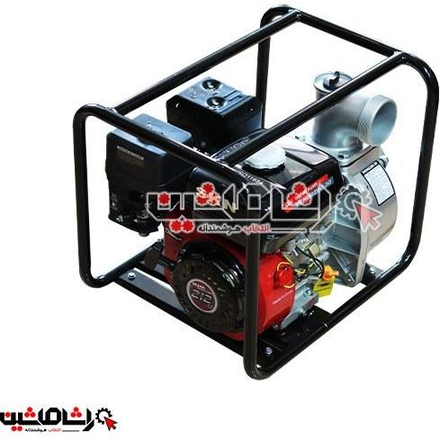 تصویر موتور پمپ آب بنزینی سه اینچ مدل SKN3″-QZ80