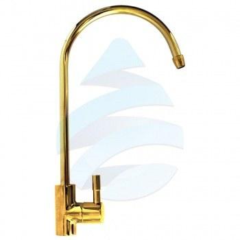 تصویر شیر برداشت تصفیه آب طلایی مدل اهرمی SG