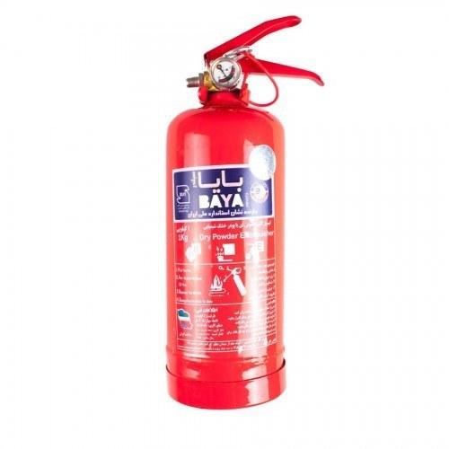 تصویر کپسول آتش نشانی 1 کیلو بایا ا 1 کیلو بایا 1 کیلو بایا