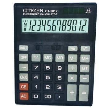 تصویر ماشین حساب سیتیژن مدل CT-2012