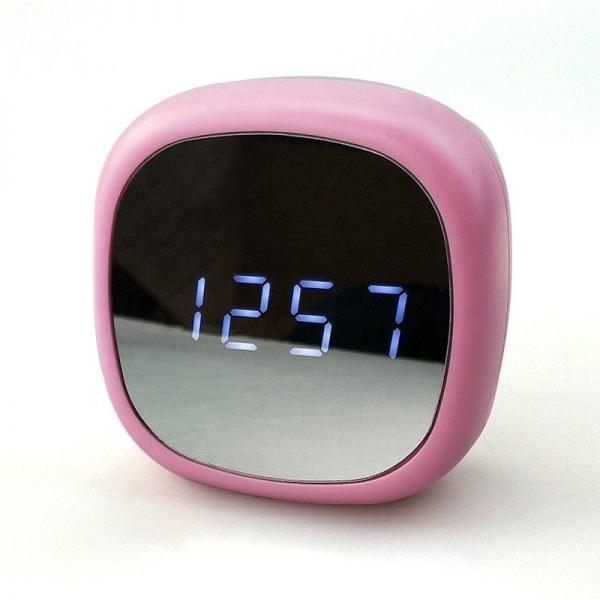ساعت ودماسنج دیجیتالی رومیزی با نمایشگر آینه ای 0708L |