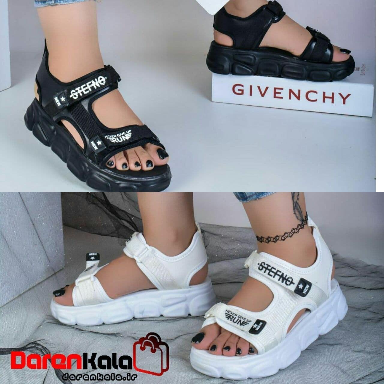 تصویر کفش صندل تابستانه زنانه دخترانهds00195