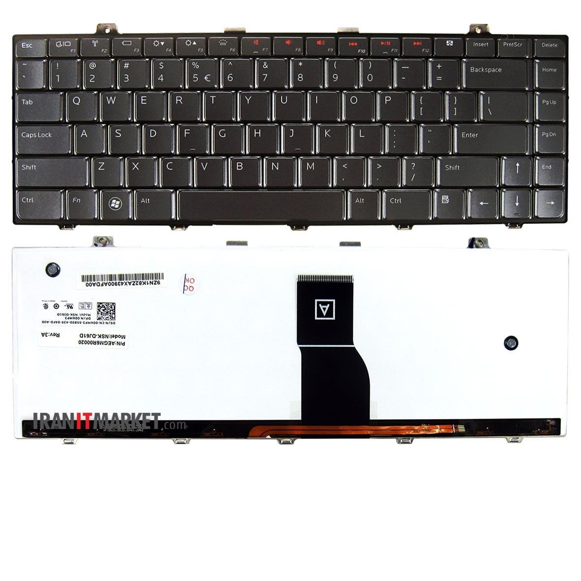 تصویر کیبورد لپ تاپ دل KEYBOARD Dell Xps l501