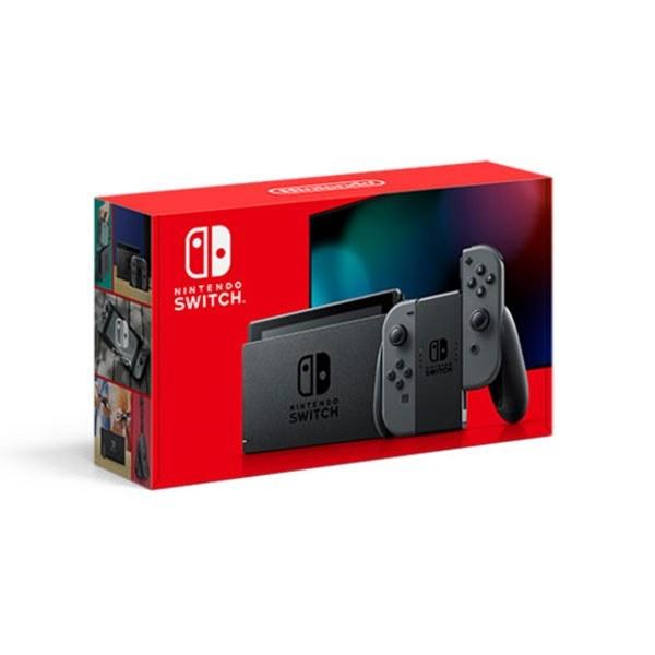 تصویر کنسول بازی نینتندوسوییچ Nintendo Switch with Gray Joy‑Con