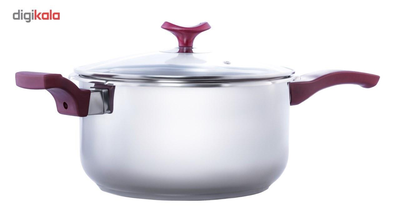 تصویر زودپز دسینی مدل دسته دار ظرفیت 7 لیتر Dessini Handli Pressure Cooker 7 Liter