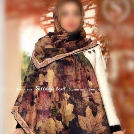 روسری نخی دستدوز کد464 |