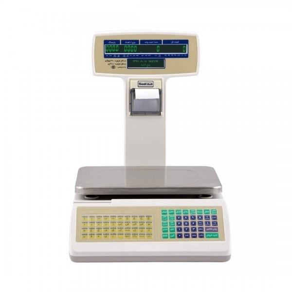 تصویر ترازوی رسید پرینتر توزین صدر مدل TSG Sadr printer Scale TSG