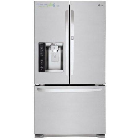یخچال فریزر درب فرانسوی ال جی 28 فوت استیل مدل LG MDF62NS French Door Refrigerator  