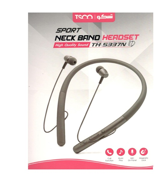 TSCO TH 5337 Neckband Bluetooth Headphone