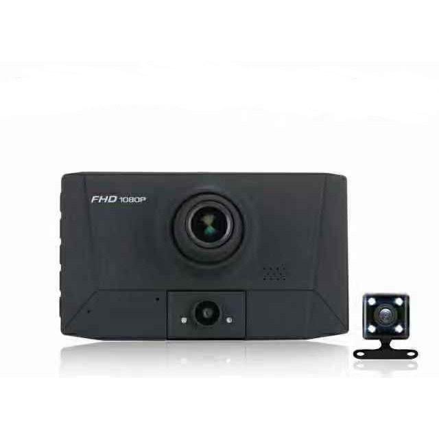 تصویر دوربین ثبت وقایع خودرو ضبط هم زمان 3 دوربین