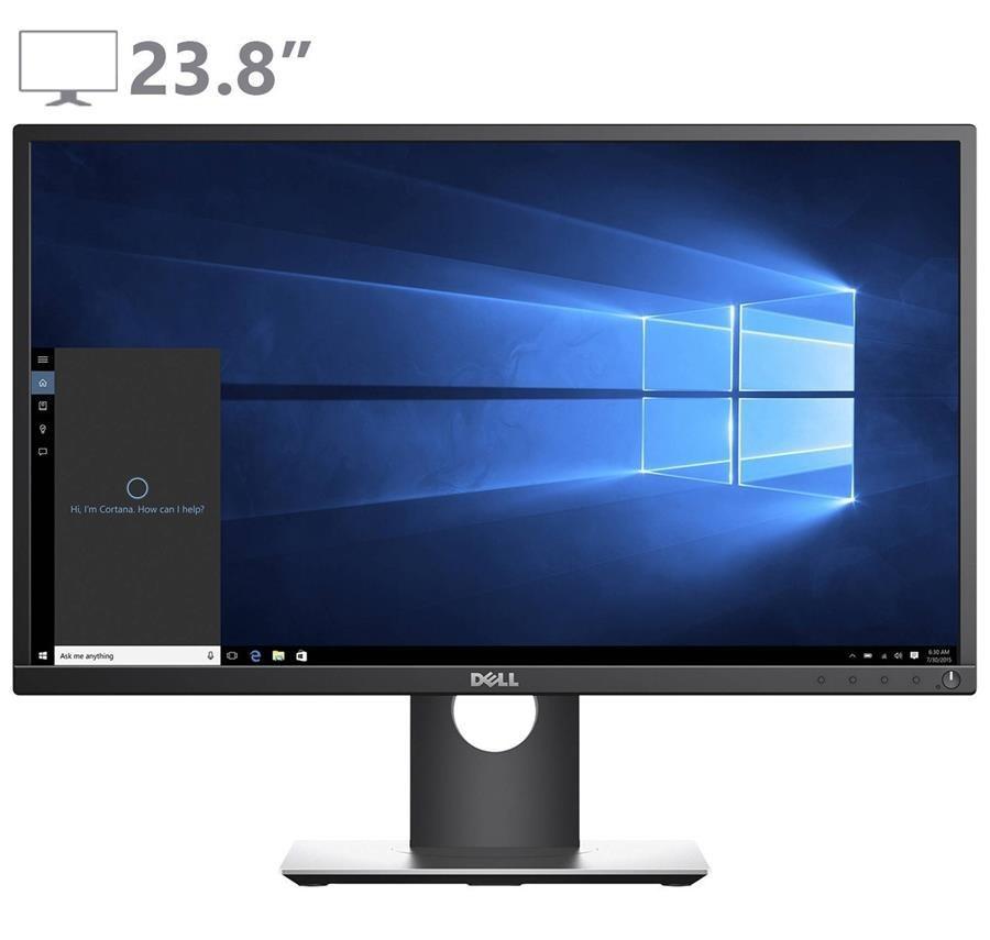تصویر مانیتور 23.8 اینچ دل مدل پی 2417 اچ مانیتور دل P2417H 23.8 Inch Full HD LED Monitor