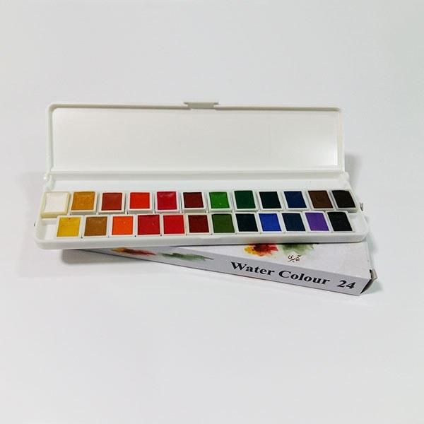 آبرنگ آقامیری ۲۴ رنگ