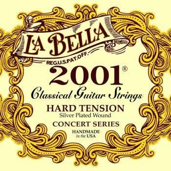سیم گیتار کلاسیک لا بلا مدل 2001 Hard Tension
