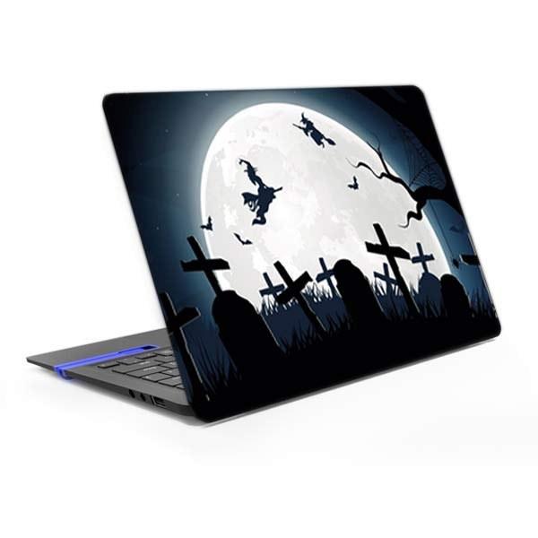 image برچسب پشت لپ تاپ مدل جادوگر
