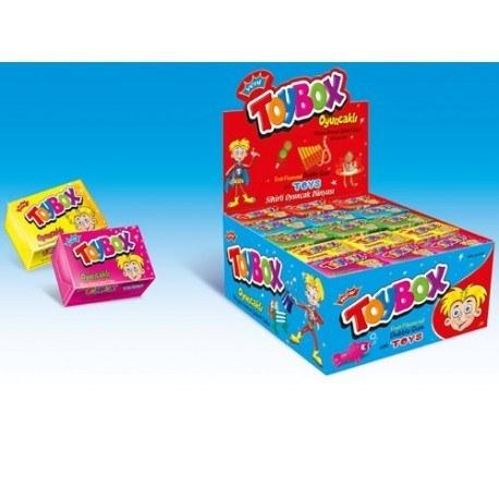 تصویر آدامس جعبه شانسی Toy Box 00098