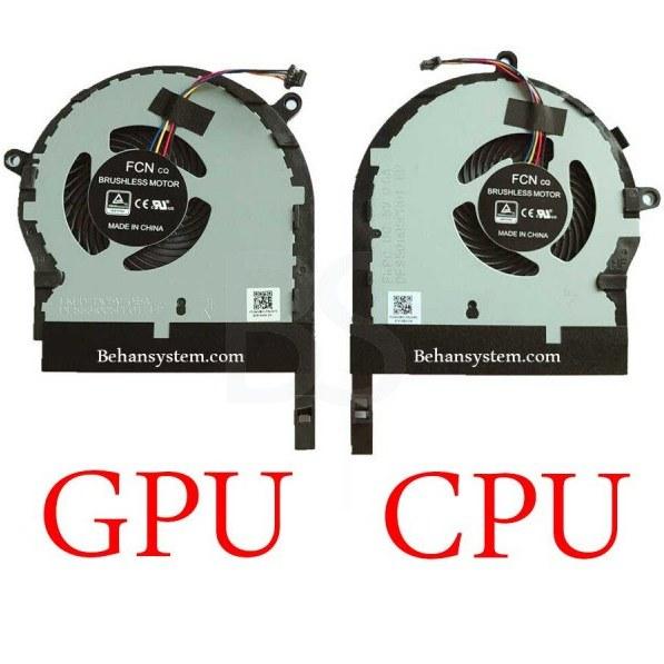 تصویر فن چپ و راست لپ تاپ ASUS مدل FX80 ا چهار سیم چهار سیم
