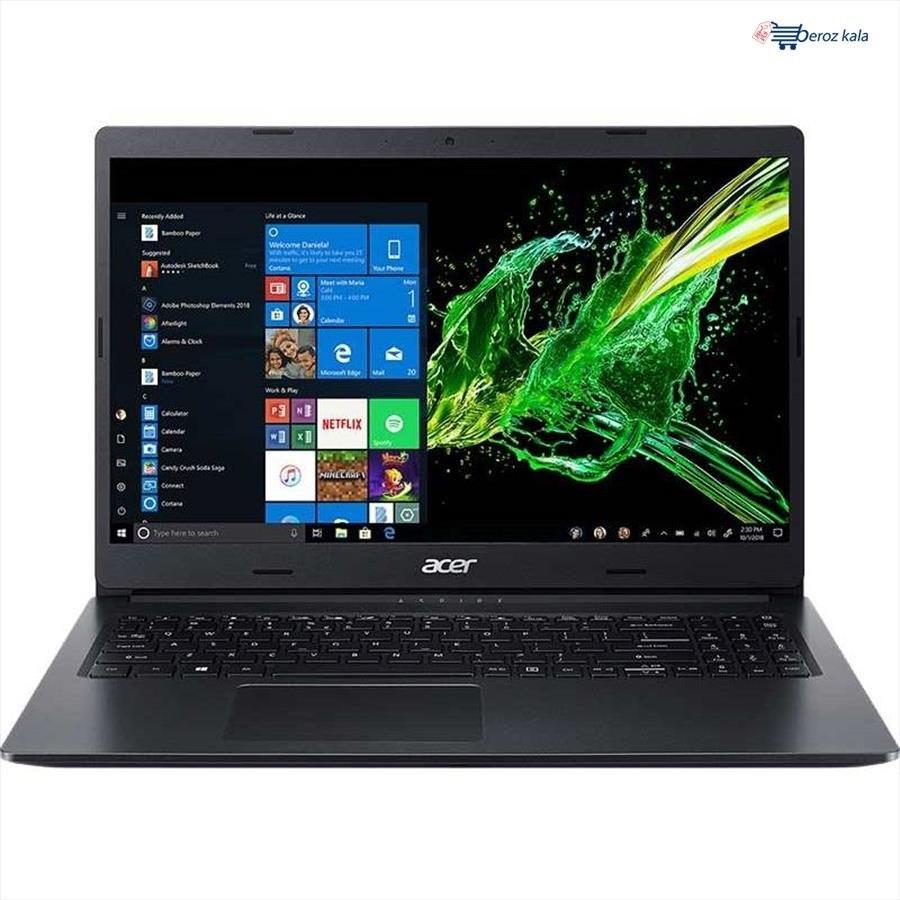 تصویر لپ تاپ ایسر 8GB RAM   1TB   2GB VGA   i5   A315  Acer Aspire 3 A315-55G-5850