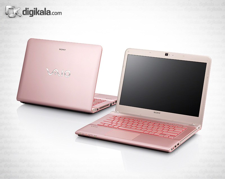 img لپ تاپ ۱۴ اینچ سونی VAIO SVE14A25CLP Sony VAIO SVE14A25CLP | 14 inch | Core i3 | 4GB | 750GB | 1GB