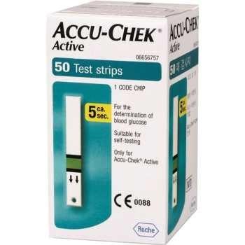 نوار تست قند خون آکیوچک اکتیو Accu chek Active