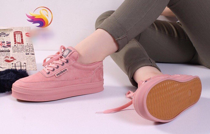 کفش اسپورت دخترانه کتانی جدید