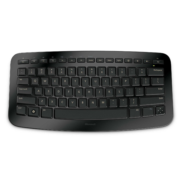 تصویر Microsoft Arc Wireless Keyboard for PC and Xbox 360 کیبورد بی سیم مایکروسافت مدل ARC