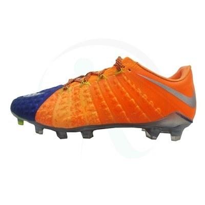 کفش فوتبال نایک هایپرونوم طرح اصلی نارنجی آبی Nike Hypervenom