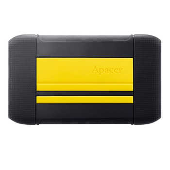 تصویر هارد اکسترنال ضدضربه اپیسر مدل AC633 ظرفیت 1TB Apacer AC633 1TB USB 3.1 Anti-shock