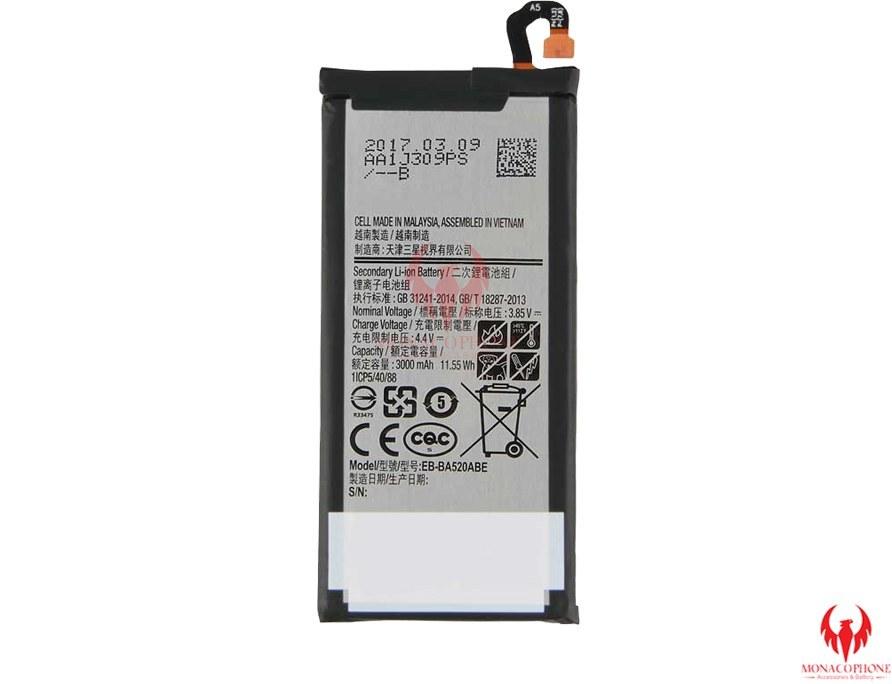 باتری اصلی گوشی سامسونگ A5 2017 مدل EB-BA520ABE
