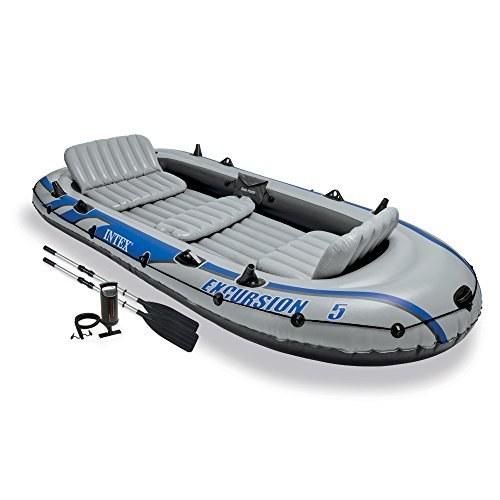 تصویر قایق بادی اینتکس مدل Excursion5 Intex Excursion5 Inflatable Boat
