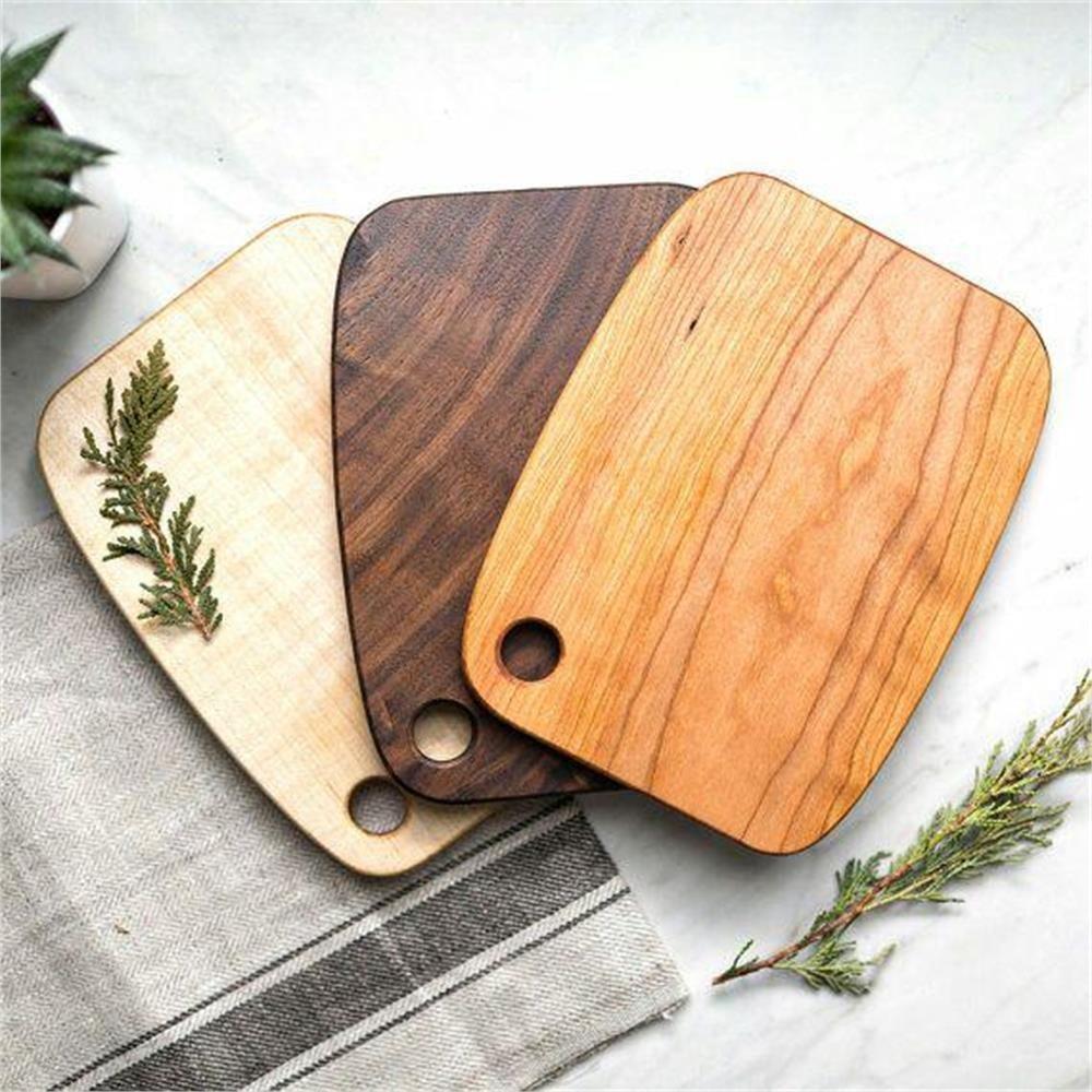 تصویر تخته سرو چوبی wooden serving table