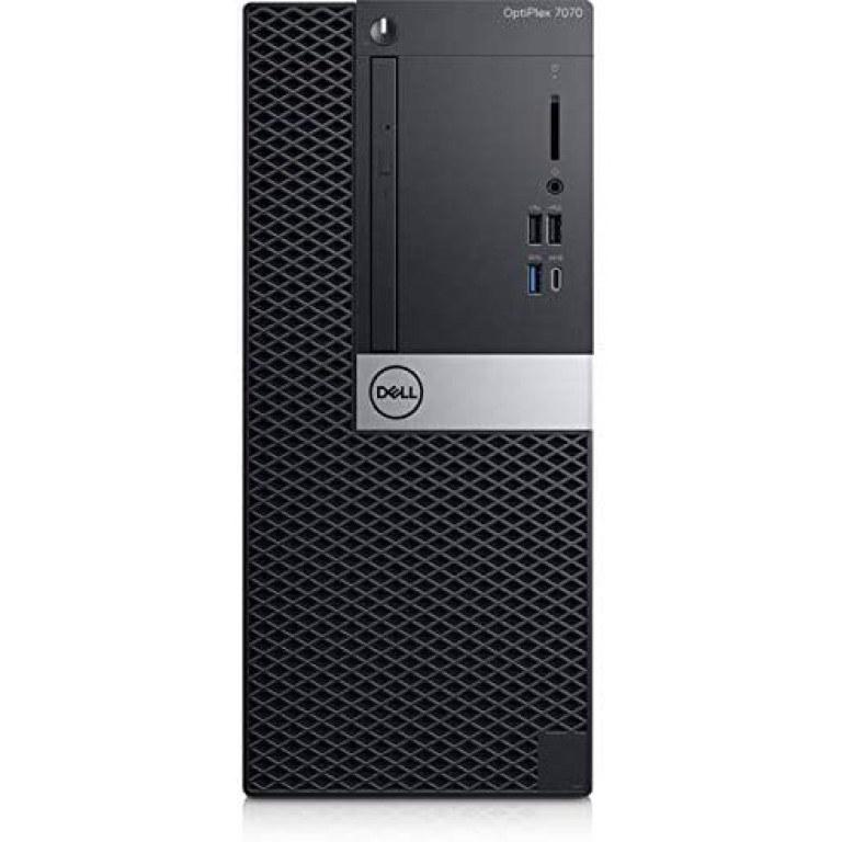 تصویر Dell OptiPlex 7070 Desktop Computer Dell OptiPlex 7070 Desktop Computer - Intel Core i7-9700 - 8GB RAM - 1TB HDD - Tower