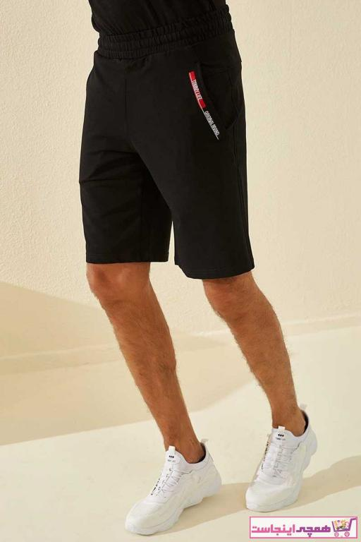 تصویر خرید انلاین شلوارک مردانه ترکیه مارک تامی لایف رنگ مشکی کد ty37611522