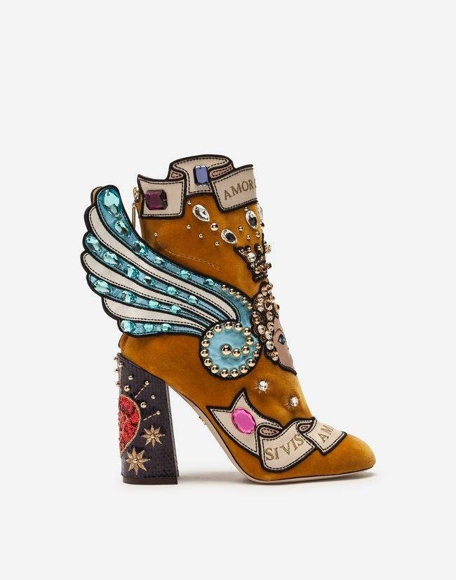 زنانه - کفش مجلسی زنانه دولچه گابانا (ایتالیا)  PATCHWORK
