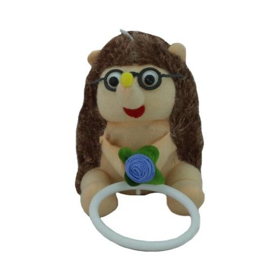 تصویر جا آویز حوله ای کودک مدل عروسکی