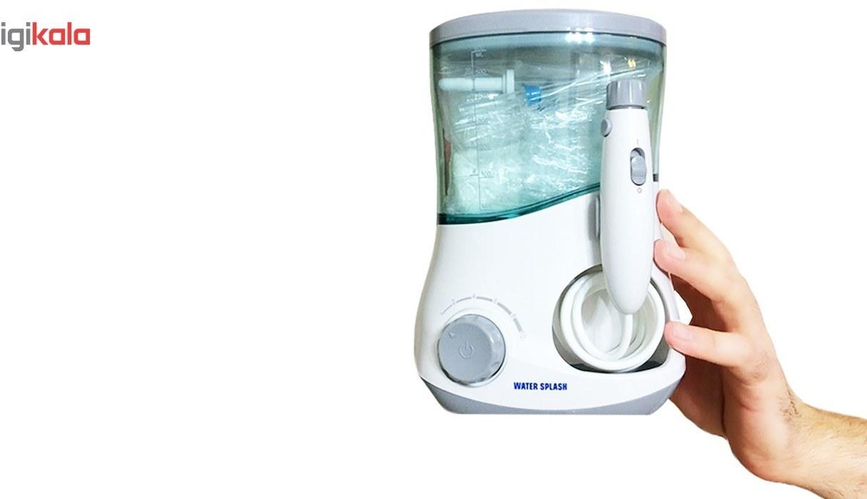 img دستگاه شست و شوی دهان و دندان واتراسپلش مدل 5102 Water Splash WS400-5102 Electric Toothbrush