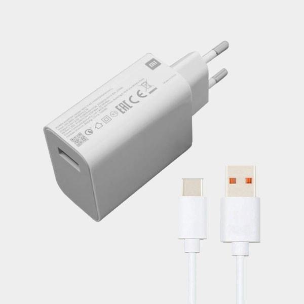 main images شارژر دیواری 27 وات شیائومی مدل MDY-11-EZ به همراه کابل تبدیل USB-C