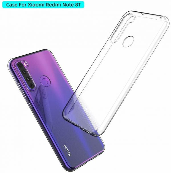خرید و قیمت قاب ردمی نوت 8 تی ژله ای شفاف محافظ بی رنگ گوشی شیائومی Xiaomi Redmi Note8t کاور نرم مخصوص Redmi Note 8 T قاب شیائومی ردمی نوت 8 شیاومی