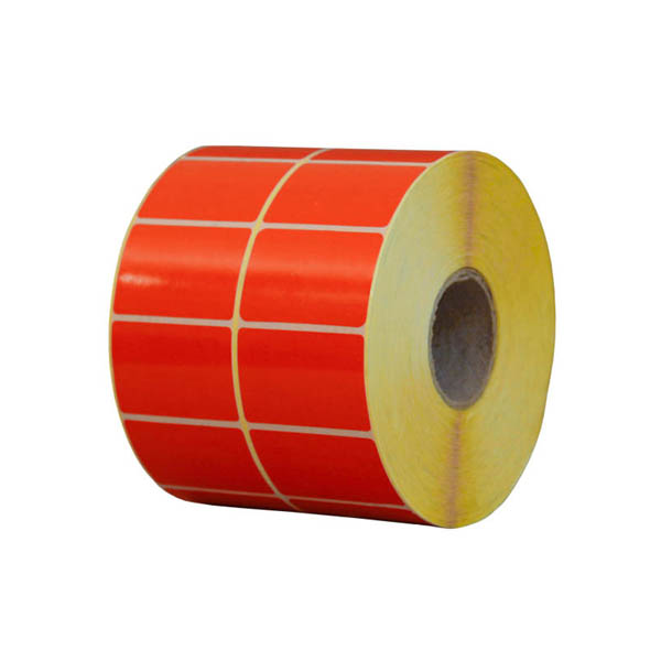 تصویر لیبل نارنجی دیجی کالا PVC 34*51