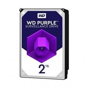 تصویر هارد اینترنال وسترن دیجیتال Purple 2TB 64MB Buffer Purple 2TB 64MB Buffer