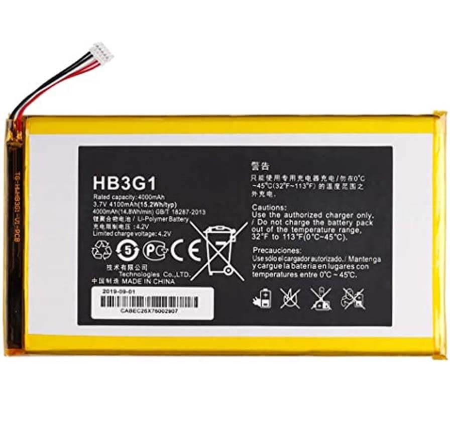 باتری تبلت هواوی HB3G1 هواوی T1-701W