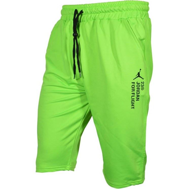 تصویر شلوارک ورزشی مردانه جردن مدل ADNK-FOR FLIGH-23 سبز