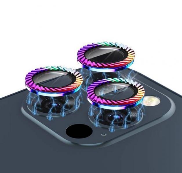 تصویر محافظ لنز گوشی گرین Rainbow Camera Lens مناسب برای اپل iPhone 12 Pro Max