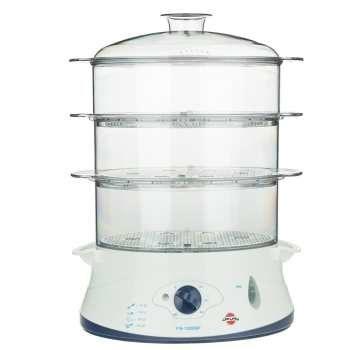 تصویر بخارپز پارس خزر مدل FS-12000P ا Pars Khazar FS-12000P Steam Cooker Pars Khazar FS-12000P Steam Cooker