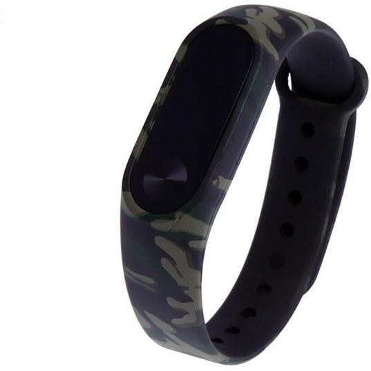 بند مچ بند هوشمند شياومي مدل Army Black Design 2